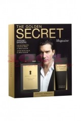 ANTONIO BANDERAS THE GOLDEN SECRET EDT 100 ML + AFTER SHAVE BALSAM 75 ML SET