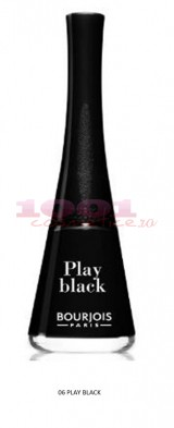 BOURJOIS 1 SECONDE LAC DE UNGHII PLAY BLACK 06