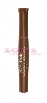 BOURJOIS BROW DESIGN SOORCILS MASCARA PENTRU GENE SI SPRANCENE CHATAIN 03