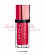 BOURJOIS ROUGE EDITION AQUA LAQUE FUCHSIA PERCHE 07