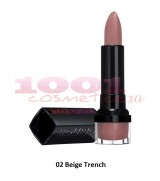 BOURJOIS ROUGE EDITION 10H LIPSTICK BEIGE TRENCH 02