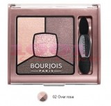 BOURJOIS SMOKY STORIES PALETA DE FARDURI OVER ROSE 02