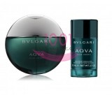 BVLGARI AQUA POUR HOMME EDT 100 ML + ROLL ON 75 ML SET