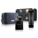 BVLGARI MAN IN BLACK EDP 100 ML + AFTER SHAVE BALSAM 100 ML + GEANTA SET