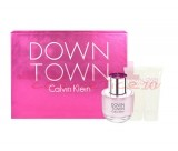 CALVIN KLEIN DOWNTOWN SET EDP 90 ML + BODY LOTION 100 ML + SHOWER GEL 100 ML