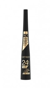 CATRICE 24H BRUSH LINER WITH COCONUT WATER TUS DE OCHI ULTRA BLACK
