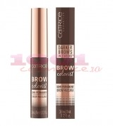 CATRICE BROW COLORIST SEMI PERMANENT BROW MASCARA PENTRU SPRANCENE BRUNETTE 025