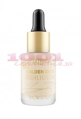 CATRICE GOLDEN DUST HIGHLIGHTER DROPS PICATURI ILUMINATOARE 010