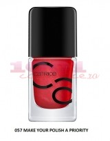 CATRICE ICONAILS GEL LACQUER LAC DE UNGHII 57 MAKE YOUR POLISH A PRIORITY