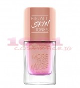CATRICE MORE THAN NUDE NAIL POLISH LAC DE UNGHII ROSEY-O SPARKLET 05