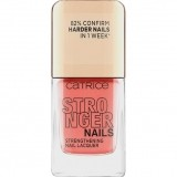 CATRICE STRONGER NAILS STRENGHTENING NAIL LACQUER LAC DE UNGHII INTARITOR BURLY CORAL 02