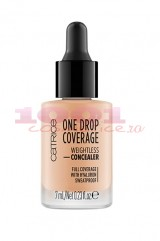 CATRICE ONE DROP COVERAGE WITH HYALURON CORECTOR NUDE BEIGE 020