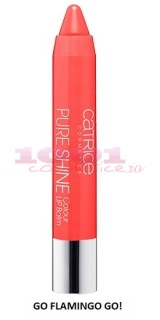 CATRICE PURE SHINE COLOUR LIP BALM GO FLAMINGO GO 060
