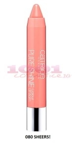 CATRICE PURE SHINE COLOUR LIP BALM SHEERS 080