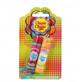 CHUPA CHUPS LOLLIPOP JUICY WATERMELON TROPICAL PASSION BALSAM PENTRU BUZE SET 2 BUCATI