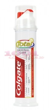 COLGATE TOTAL ORIGINAL CARE WITH PUMP PASTA DE DINTI