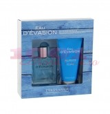 INESSANCE PARIS SET EAU E VASION EDT 100 ML + GEL DE DUS 150 ML SET