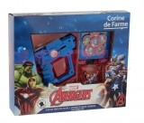 CORINE DE FARME MARVEL AVENGERS EDT 50 ML + DISC SHOOTERS SET