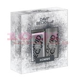 DAVID BECKHAM HOMME DNS 75 ML + DEODORANT BODY SPRAY 150 ML SET