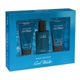 DAVIDOFF COOL WATER M EDT 40 ML + SG 50 ML  + AS 50 ML SET