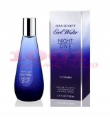 DAVIDOFF COOL WATER NIGHT EAU DE TOILETTE WOMEN