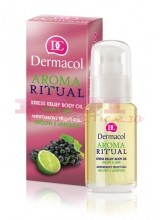 DERMACOL AROMA RITUAL STRESS RELIEF BODY OIL ULEI DE CORP CU GRAPHE & LIME