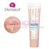 DERMACOL SELFIE MAKE UP 2 IN 1 FOND DE TEN + BAZA DE MACHIAJ 02