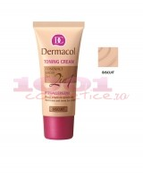 DERMACOL TONING CREAM 2 IN 1 CREMA SI FOND DE TEN BISCUIT