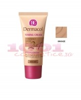 DERMACOL TONING CREAM 2 IN 1 CREMA SI FOND DE TEN BRONZE