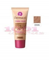 DERMACOL TONING CREAM 2 IN 1 CREMA SI FOND DE TEN CARAMEL