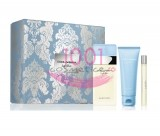 DOLCE & GABBANA LIGHT BLUE WOMEN EDT 100 ML + EDT 10 ML+ BODY CREAM 75 ML SET