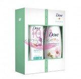 DOVE DELICATE BEAUTY SET GEL DE DUS 250 ML + LOTIUNE DE CORP 250 ML