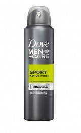 DOVE MEN+CARE SPORT ACTIVE+ FRESH ANTIPERSPIRANT SPRAY MEN