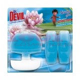 TOMIL DR. DEVIL NEUTRO EFFECT ODORIZANT WC + 2 REZERVE LOTUS LAGOON SET