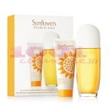 ELIZABETH ARDEN SUNFLOWERS EDT 100 ML + CREMA DE CORP 100 ML SET