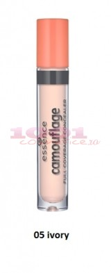 ESSENCE CAMOUFLAGE FULL COVERAGE CONCEALER IVORY 05
