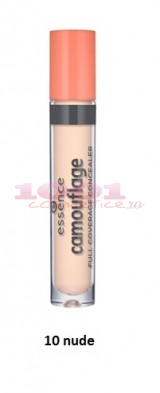 ESSENCE CAMOUFLAGE FULL COVERAGE CONCEALER NUDE 10