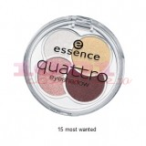 ESSENCE FARD DE PLEOAPE 4 NUANTE MOST WANTED 15