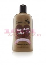 ESSENCE I LOVE CHOCOLATE FUDGE CAKE BATH & SHOWER CREAM GEL DE DUS CREMOS