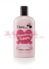 ESSENCE I LOVE STRAWBERRIES CREAM BATH & SHOWER CREAM GEL DE DUS CREMOS