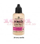 ESSENCE INSTA PERFECT LIQUID MAKE UP FOND DE TEN VERY VANILLA 20
