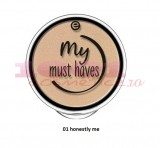 ESSENCE MY MUST HAVE HOLO POWDER FARD DE PLEOAPE MONO 01 HONESTLY ME