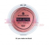ESSENCE PRIME LAST DAILY DIARIES BAKED BLUSH FARD DE OBRAZ YOU MAKE ME BLUSH 01