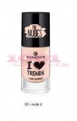 ESSENCE THE NUDE LAC DE UNGHII I NUDE IT 02
