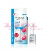 EVELINE COSMETICS 3 IN 1 TOP COAT HARD AN SHINY NAILS