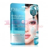 EVELINE COSMETICS 8 IN 1 HYALURON FACE MASK MASCA DE FATA 8 BENEFICII