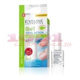 EVELINE COSMETICS 8 IN 1 TOTAL ACTION SENSITIVE TRATAMENT INTARITOR 8 IN 1 PENTRU UNGHII SENSIBILE