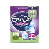 EVERYDAY ABSORBANTE DOUBLE DRY XL EXTRA LONG 8 BUCATI