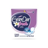 EVERYDAY ABSORBANTE FRESH MAXI NIGHT ULTRA PLUS 10 BUCATI