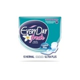EVERYDAY ABSORBANTE FRESH NORMAL ULTRA PLUS 10 BUCATI